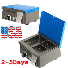 USA!Dental 3 Well Analog Wax Melting Dipping Pot Heater Melter Lab Equipment