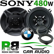 BMW Mini R52 2001 - 2006 SONY 13cm 480 Watts 3 Way Front Door Car Speaker Kit