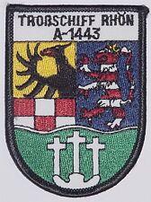 "Aufnäher Patch Marine Troßschiff ""Rhön"" A1443 ..........A3491"