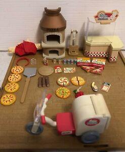 sylvanian families Pizza Shop Set
