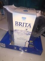 Brita 10 Cup Water Filter Pitcher with Filter White