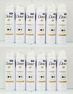 Dove Invisible Dry Deodorant & Body Spray 48H FRESH 150ml Pack Of 12