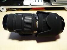 Sigma 70-200mm F2.8  APO EX DG HSM Macro ll lens caps, sony A mount.