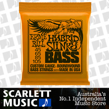 Ernie Ball 2833 Hybrid Slinky Bass Guitar Strings Roundwound 45-105 .045-.105