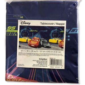 "DesignWare Disney Cars 54"" x 96"" Party Tablecover"