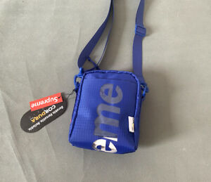 Supreme Neck Pouch Royal OS SS21 (In Hand) Brand New Sealed Unisex Free shipping
