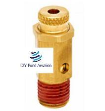 New 100 150 Psi Air Compressor Pressure Adjustable Relief Pop Off Valve 14mpt