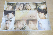 SuperJunior vol.6 Super Junior - Sexy, Free & Single OFFICIAL FOLDED POSTER KPOP
