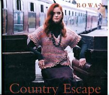 Country Escape - Rowan Knitting Pattern Book -15 Country Designs for Women & Men