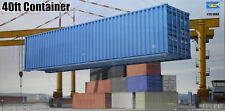 Trumpeter 40ft 40-Fuß Container LKW 1:35 Bausatz Model Kit Art. 01030 Diorama