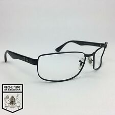 RAY-BAN eyeglass BLACK / METAL frame RECTANGLE Authentic. MOD: RB 3478