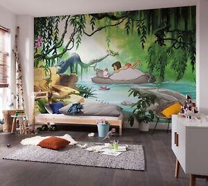 Children's bedroom wallpaper photo wall mural 368x254cm Disney Jungle book Baloo