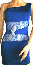 Unbranded Lace One Shoulder Short/Mini Dresses