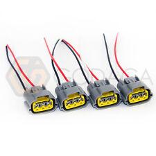 Set of 4 Connector Plug Harness For Nissan Skyline Ignition Coil sr20 rb20 rb25
