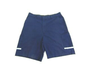 FedEx Uniform Shorts Navy Blue Stan Herman VF Imagewear Work Mens Size 33S