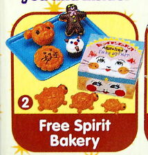Miniatures Bread & Butter Set No.2, 1pc - Re-ment  , #7ok