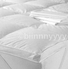Luxury Single Size Luxury 85% Goose Feather & 15% Down Mattress Topper