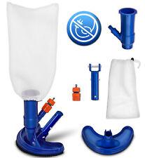 tillvex® Pool Bodensauger Set 6tlg Reinigungsset Reinigung Bürste Boden Vakuum