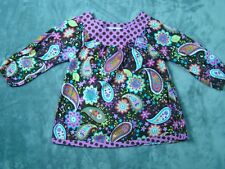 Baxter & Beatrice Fine Children's Clothing Girls Paisley Print Dress size 6