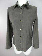 Jay Jacobs T20 Size S Women's Brown V Neck Long Sleeve Button Down  Blazer