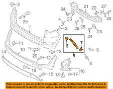 HYUNDAI OEM 16-18 Tucson Rear Bumper-Lower Bracket Left 86613D3000