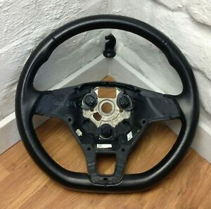 Genuine VW Polo, Caddy Flat Bottom black leather steering wheel 6C0419091    A16