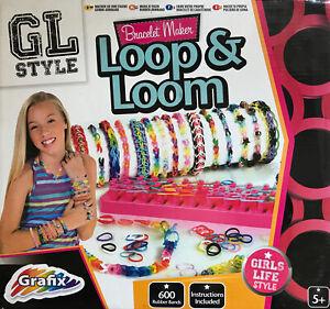 Bracelet Maker Loop and Loom, GL Style Creative Set Age 5+ NEW