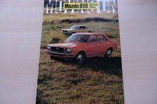 217532) Mazda 818 Prospekt 11/1971