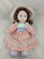 "Amtoy Doll 12"" Cloth Pink 1984 American Greetings Stuffed"