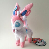 Pokemon Center 6 inch Sylveon Nymphia Standing Plush Toy Stuffed Doll