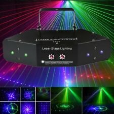 LED RGB Stage Light Lighting Beam Laser DMX  Disco DJ Party KTV Projector