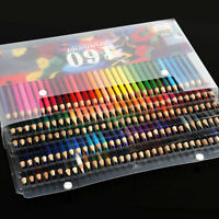 160 x Premium Colouring Pencils Set Drawing Artist Kids Colour Therapy In Tin MO