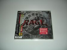 Rage - Carved In Stone Japan/Sealed New CD/DVD
