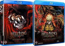Hellsing Ultimate Volume 1-8 Collection OVA 1 2 3 4 5 6 7 8 . Anime . 4 Blu-ray
