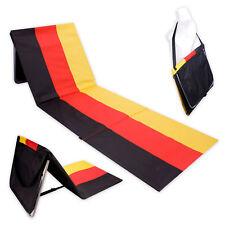 Foldable Beach chair Beach mat Folding bed Sleep mat Outdoor lounger GERMANY