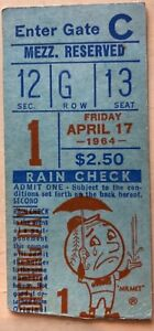 ULTIMATE METS PKG - FIRST GAME PLAYED @ SHEA, Includes Ticket Stub,Program,MORE