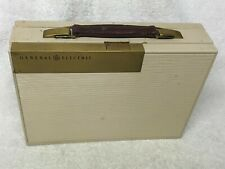 Rare Vintage 1940s GENERAL ELECTRIC Model 145 Portable Tube AM Radio