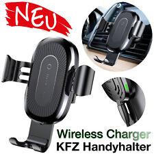 Auto KFZ Smartphone Handy Halterung WIRELESS CHARGING ⭐ Universal Lüftungsgitter