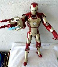 "2012 Electronic Talking Blasting 15"" Iron Man Avengers Action Figure Marvel"