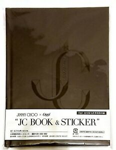 Jimmy Choo Logo Notebook & Stickers Limited Edition / OGGI / Registered Air