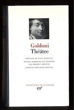 GOLDONI  THEATRE   La Locandiera   Bibliothèque de LA PLEIADE  n°238 1989