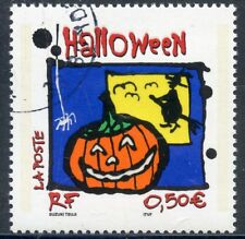 STAMP / TIMBRE FRANCE OBLITERE N° 3713 HALLOWEEN