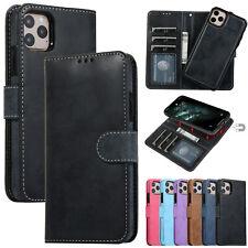 Handy Hülle Für iPhone 12 11 XS Max XR X 8 7 Leder Brieftasche Schutz Magnetish
