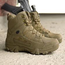 Мужские открытый тактический короткие сапоги военные боевые армии пустыня обувь патруль