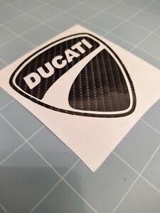 Ducati Decal / Sticker 6D Carbon Fibre Vinyl