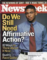 Newsweek Mag Affirmative Action January 27, 2003 102219nonr