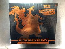 Pokemon Champion's Path Elite Trainer Box ETB TCG New Factory Sealed.