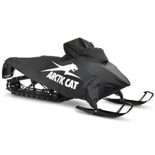 Arctic Cat Canvas Snowmobile Cover Black & White - 2012-2019 M XF-HC - 8639-003