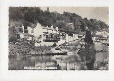Ye Olde Ferrie Inne Symonds Yat Vintage RP Postcard 729a