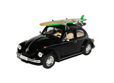VW Beetle with Surfboard Diecast Model
